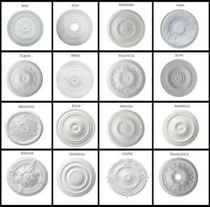 Ceiling Rose Resin Strong Lightweight Design Easy Not Polystyrene Polyurethane
