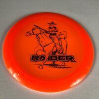 Dynamic Discs Raider Distance Driver Orange 173g Golf Gun Mask Cowboy Horse NEW