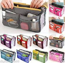 Mujeres Dama Viaje Detalles Bolso Organizador Cartera Grande Interior Bag