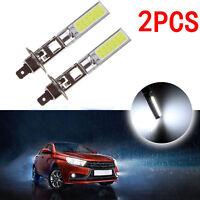 2X H1 COB LED Auto Fog Light Headlight DRL Daytime Running Light Bulb Useful