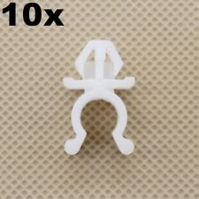 20pcs White 8mm Plastic Hole Hood Support Prop Rod Clips 65722-01E00 For Nissan