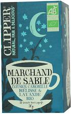 Clipper Infusion Bio Marchand de Sable - Infusion camomille, mélisse et lavande