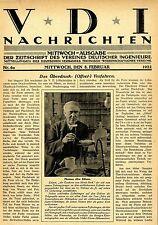 """Thomas Edison """"der Zauberer von Menso Park"""" zum 75.Geburtstag 1922"""