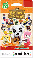 Nintendo Animal Crossing Amiibo Cards Series 2 for Nintendo 1-Pack, 3 Cards/Pack