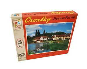Vintage Milton Bradley The Lucky Ones Croxley Jigsaw Puzzle 500 Pieces 4611 USA