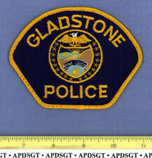 GLADSTONE OREGON Sheriff Police Patch STATE SEAL
