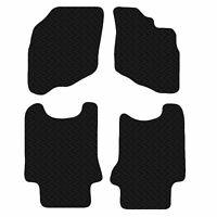 AUDI A4 AVANT 2008-2015 - Black Floor Rubber Fully Tailored Car Mats 3mm