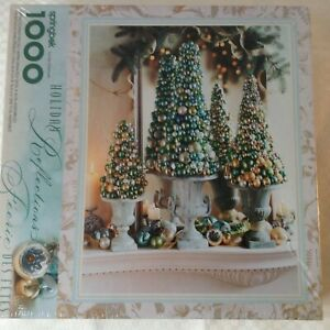 Springbok Hallmark Puzzle Holiday Reflections 1000 Pieces Ornaments NEW Sealed