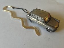 Ford Anglia 105E Saloon ref69  FULL CAR on a CURVED bookmark with cord