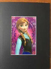 FROZEN~PRINCESS ANNA OF ARENDELLE~8 x 10 Mat Print~ONE BEAUTIFUL SMILE~NEW