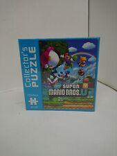Super Mario Bros U Collectors Puzzle New Factory Sealed