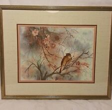 ORIGINAL WATER COLOR PRINT SIGNED/NUMBERED CECILIA LIN (SPRING DEBUT II) LIMITED