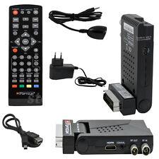 Mini DVB-T2 Terrestre Ricevitore A.265 HEVC HDTV Campeggio Cellulare Scart+HDMI