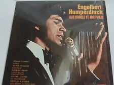 """VTG 1970 ENGELBERT HUMPERDINCK """"We Made It Happen"""" LP London XPAS 71038 VG++"""
