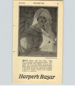 1923 PAPER AD Harper's Bazar Magazine Baron De Meyer Indianapolis Radius Book