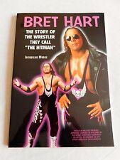 Bret Hit Man Hart Story BOOK WWE WCW Wrestling Wrestler New