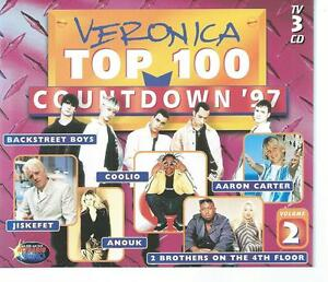 3 CD box VERONICA COUNTDOWN '97 vol 2 ANOUK COOLIO NO DOUBT DAMAGE R KELLY SASH