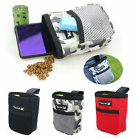 Puppy Pet Dog Treat Obedience Training Pouch Waste Bags Dispenser Food Snack Bag