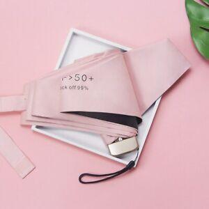 Umbrella Small Mini Fashion Pocket Size Folding Parasol Waterproof Sun Anti UV