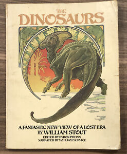 The Dinosaurs - Fantastic New View Of A Lost Era -Softcover- Bantam01335-1 1980s