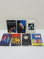 Set of 7 90's Pop Music Single Cassette Tapes Elton John China Black Eternal