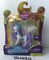 New Shopkins Royal Trends Gemicorn White & Purple Unicorn Happy Places Set NIP