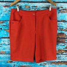 EP Pro Womens Shorts Orange Size 8