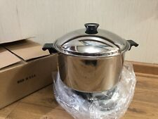Regal Ware Cookware 16 Qrts Stock Pot Stainless Cookware Titanium Induction USA