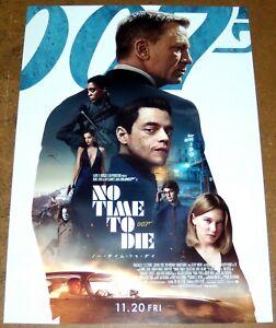 NO TiME TO DiE Daniel Craig is James Bond 007 Léa Seydoux JAPANESE CHiRASHi #2