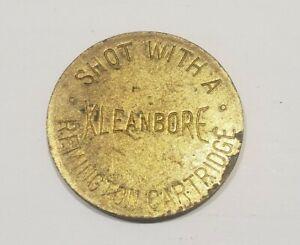 Vintage Remington Cartridge Rifle Kleanbore Target Token Coin