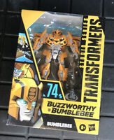 Transformers Studio Series #74 Buzzworthy Bumblebee New/Sealed