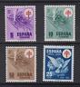 ESPAÑA (1950) MNH NUEVO SIN FIJASELLOS SPAIN - EDIFIL 1084/87 TUBERCULOSOS