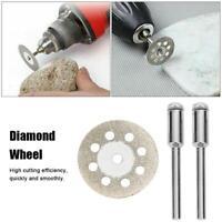 10PC 20/22/25mm Diamond Cutting Wheel Cut off Blade Grinding Disc + 2pc Mandrel