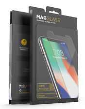 iPhone XS Max Matte Tempered Glass Screen Protector, Magglass Anti Glare Guard