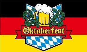Oktoberfest 5'x3' Flag Bavarian German Beer Festival Banner Bar Pub Flags