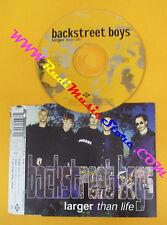 CD singolo Backstreet Boys Larger Than Life 7243 8 96226 2 1 no lp mc vhs(S28*)