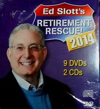 Ed Slotts Retirement Rescue 2014 11 DVD/CD Set Financial Planning PBS New