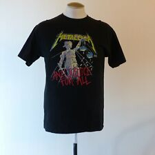 Metallica And Justice For All Shirt L - Heavy Metal Band T