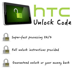 HTC Unlock Code (All models/Networks Supported - Fast 0-12 Hour Processing)