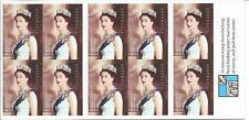 2003 Coronation Golden Jubilee 50c Self Adhesive Stamp Booklet:Muh#