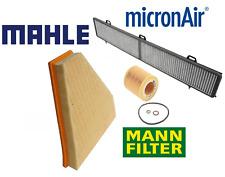 Air Filter Oil Filter AC Cabin Filter Carbon OEM BMW 128i E90 E91 E92 E93 06-13