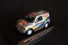 Skid Mitsubishi Pajero 2001 1:43 #203 Shinozuka / Gallagher Dakar Rally 2001