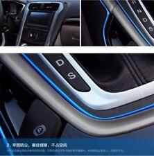 5M Auto Accessories Car Universal Interior Gap Decorative Blue Line Chrome Shiny(Fits: Hyundai Elantra)