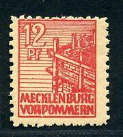 SBZ Mecklenburg-Vorpommern MiNr. 36 z b postfrisch MNH geprüft (A0109