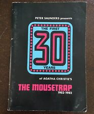 Peter Saunders Presents 30 Years of Agatha Christie's The Mouse Trap 1952-1982