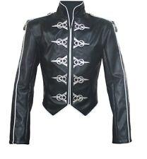 Michael Jackson This Is It World Tour Punk Leather Jacket MJ COSTUME