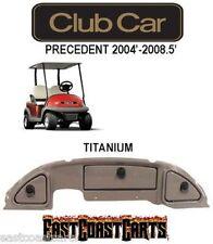 Club Car Precedent Golf Cart Dash Cover 2004'-2008.5' TITANIUM