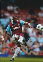 Frederic PIQUIONNE SIGNED COA Autograph 12x8 Photo AFTAL West Ham United Genuine