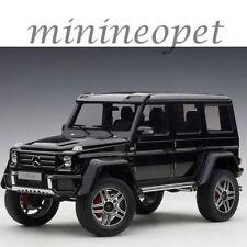 AUTOart 76317 MERCEDES BENZ G 500 4 x 4 2 1/18 MODEL CAR GLOSS BLACK