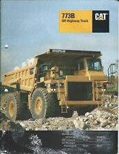 Equipment Brochure - Caterpillar - 773B - Off-Highway Dump Truck - 1994 (E5032)